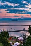 Lake Champlain Waterfront royalty free stock image