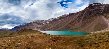 Lake Chandra Taal, Spiti Valley Royalty Free Stock Photography