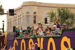 Lake Charles Mardi Gras Royalty Free Stock Image