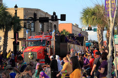 Lake Charles Mardi Gras stock photography