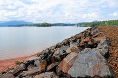 Lake Chatuge & Appalachian Mountains Stock Photography