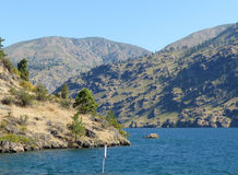 Lake Chelan, WA Royalty Free Stock Images