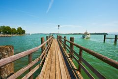 Lake Chiemsee Royalty Free Stock Photos