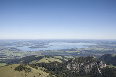 Lake Chiemsee Royalty Free Stock Photography