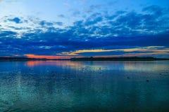 Lake Chiemsee royaltyfri foto