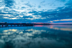 Lake Chiemsee royaltyfria foton