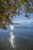 Lake Chiemsee in autumn Royalty Free Stock Photo