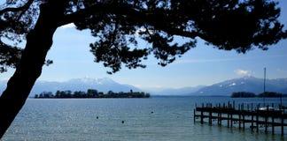 Lake Chiemsee Royalty Free Stock Photo
