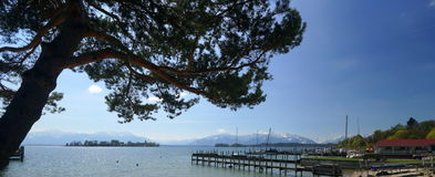 Lake Chiemsee Stock Images