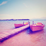 Lake  Chiemsee Stock Image