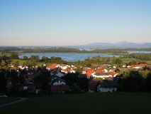The Lake Chiemsee Royalty Free Stock Images