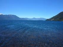 Lake, chile Stock Image