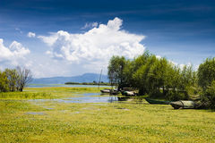 The lake of china Royalty Free Stock Photography