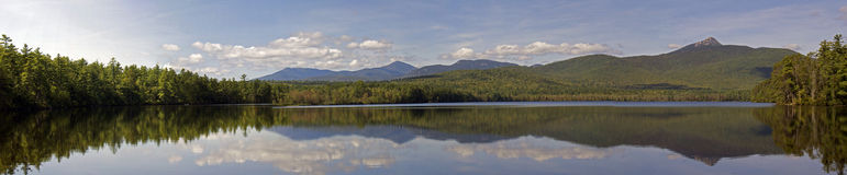 Lake Chocorua Panorama Royalty Free Stock Photography