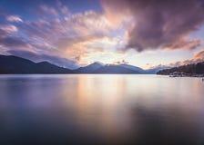 Lake Chuzenji in Nikko, Japan Royalty Free Stock Photos