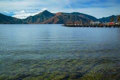 Lake Chuzenji at Nikko National Park in Japan Royalty Free Stock Photos