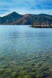 Lake Chuzenji at Nikko National Park in Japan Royalty Free Stock Photo