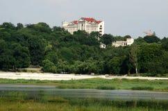 Lake city chisinau Stock Image