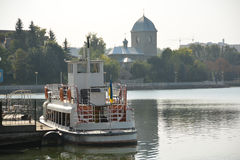 Lake in the city of Ternopil Royalty Free Stock Photography