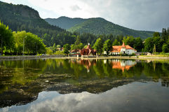 Lake Ciucas Royalty Free Stock Photography