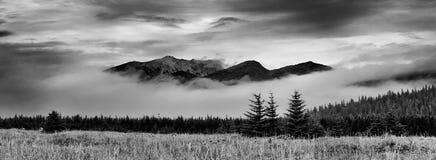 Lake Clark National Park panorama Royalty Free Stock Images