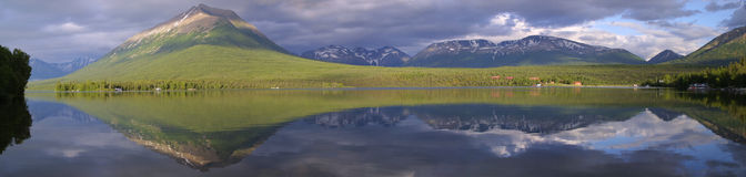 Lake Clark Panorama Royalty Free Stock Photos