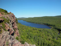 Lake of the clouds, MI Royalty Free Stock Image