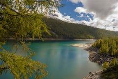 Lake. Codelago in alpe devero Royalty Free Stock Photo