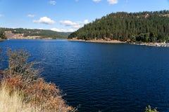 Lake Coeur d`Alene, Idaho. Visrta of Lake Coeur d`Alene, Idaho Stock Image