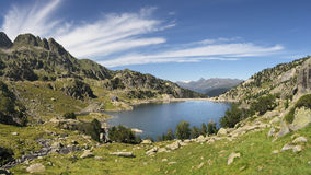 Lake of Colomers Royalty Free Stock Photo