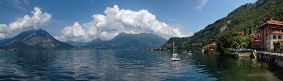 Lake Como. Panorama of Lake Como in Italy Stock Photo