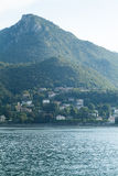 Lake Como Royaltyfri Fotografi