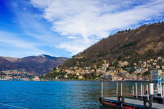 Lake of Como Stock Image