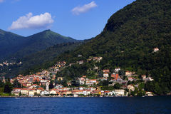 Lake Como royaltyfria bilder
