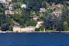 Lake Como royaltyfri bild