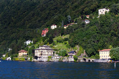 Lake Como royaltyfria foton