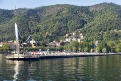Lake of Como at Como Stock Photos