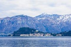 Lake Como and Bellagio Stock Image