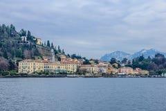 Lake Como and Bellagio Stock Photos