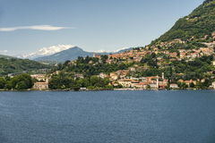 Lake of Como at Blevio Stock Photos