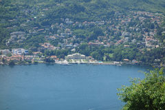Lake Como in Brunate Royalty Free Stock Images