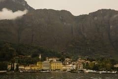 Lake Como Cadenabbia Italy Stock Images