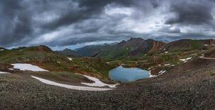 Lake Como Colorado USA stock image