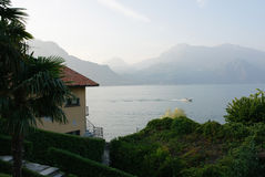 Lake Como in the evening Royalty Free Stock Photo
