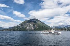 Lake Como Ferry Royalty Free Stock Image