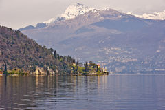 Lake Como Italy. In spring Stock Photo