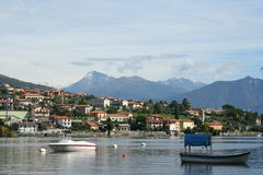Lake Como in Italy Royalty Free Stock Photos