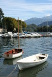 Lake Como in Italy Royalty Free Stock Photo