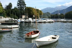 Lake Como in Italy Royalty Free Stock Photography
