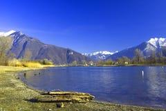 Lake Como in Italy Stock Photo